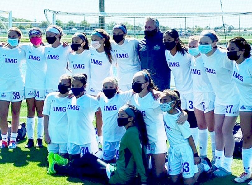 Taylor Foss selected in the IMG U13 team