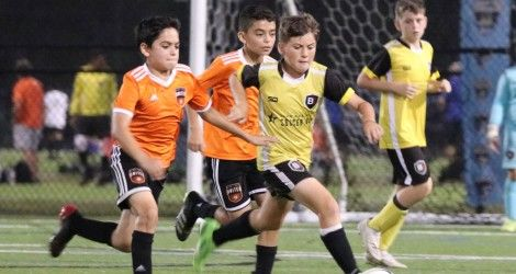 B1 teams fought hard in the Miami Cup